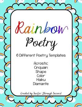 Rainbow Poetry Freebie
