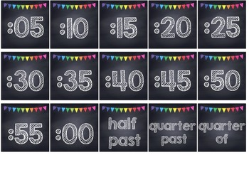 Rainbow Polka Dot Chalkboard Classroom Decor Bundle