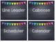 Rainbow Polka Dot Chalkboard Job Cards