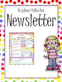 Rainbow Polka Dot Newsletter