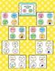 Rainbow Polka Dot School Supply Labels