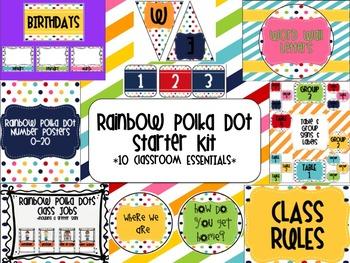Rainbow Polka Dot Starter Kit