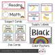 Rainbow Polka Dot Theme Classroom Decor {Editable}
