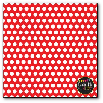 Rainbow Polka Dots Digital Papers {Commercial Use Digital Graphics}