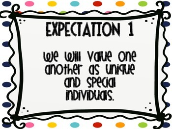 Rainbow Polka Dots Great Expectations Posters