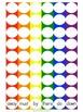 Rainbow Pom-Pom Game--Journeys Sight Word Edition!