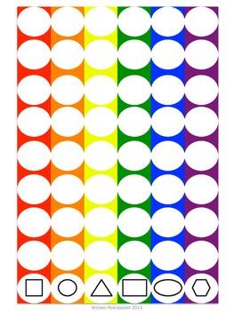 Rainbow Pom-Pom Toss