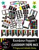 Rainbow Poppin'! Class Theme Pack