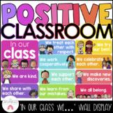 Rainbow Positive Statements Class Poster Set