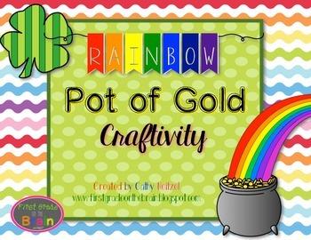 Rainbow Pot of Gold Craftivity