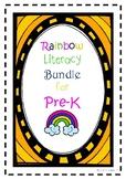 Rainbow Pre-K Literacy Bundle