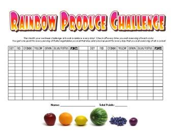 Rainbow Produce Wellness Staff Challenge