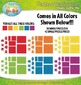 Rainbow Puzzle Pieces Clipart — Over 75 Graphics!