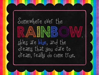 Rainbow Quotes {Freebie!}