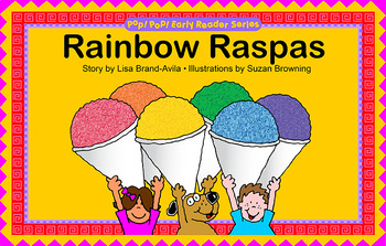 Rainbow Raspas Book - English