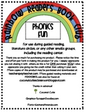 Rainbow Readers Book Club-Phonics Fun