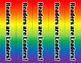 Rainbow Readers are Leaders Bookmarks