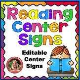 Rainbow Reading Center Signs