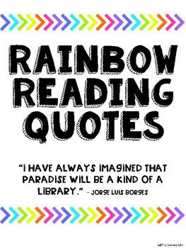 Rainbow Reading Quotes