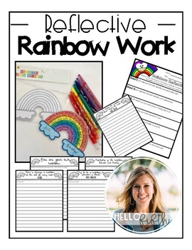 Rainbow Reflection Activities