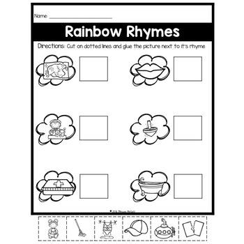 Rainbow Rhymes (Matching)