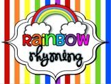 Rainbow Rhyming
