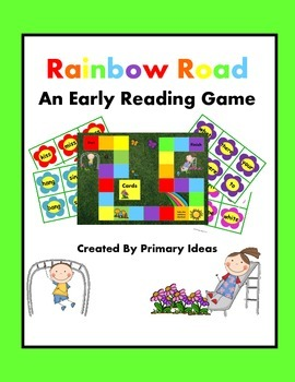 Rainbow Road Reading Game: An Early Phonics Reading Game