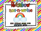 Rainbow Roll-N-Write Reading Street Kindergarten Words