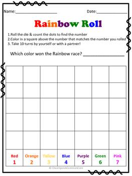 Rainbow Roll Race