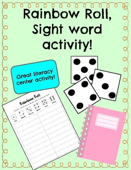 Sight Word Activity: Rainbow Roll