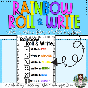 Rainbow Roll & Write