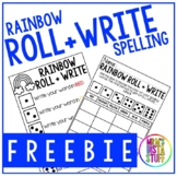 Rainbow Roll + Write - FREEBIE