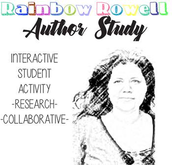 Rainbow Rowell Author Study, Eleanor and Park, FanGirl, Rainbow Rowell Biography
