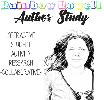 Rainbow Rowell Author Study, Eleanor and Park, FanGirl, Ra