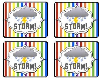 Rainbow STORM! NWF Game
