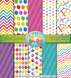 Rainbow School Digital Scrapbook Pack {Zip-A-Dee-Doo-Dah Designs}