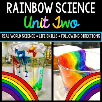 Rainbow Science Experiment - Special Education - Life Skil