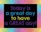Rainbow Scribble Classroom Motivation & Management