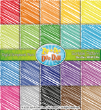 Rainbow Scribbles Pattern Digital Scrapbook {Zip-A-Dee-Doo-Dah Designs}