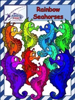 Rainbow Seahorses
