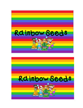 St Patrick's Day Rainbow Seeds
