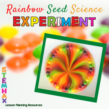 Rainbow Seeds Science Experiment