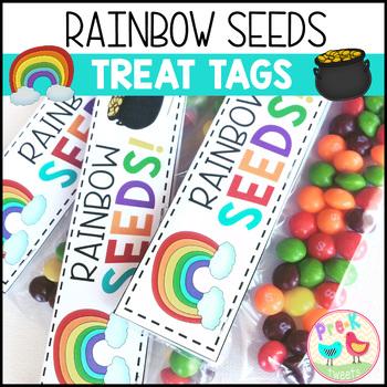 Rainbow Seeds Treat Tags
