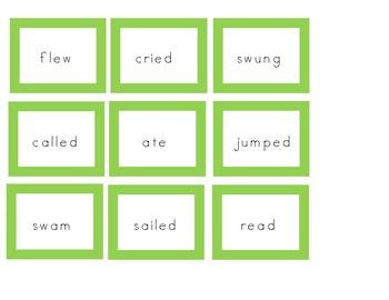 Rainbow Sentences Template