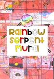 Rainbow Serpent Mural Printable #supportaussiefarmers