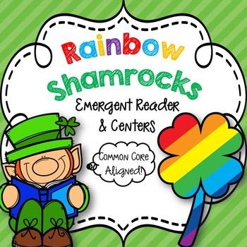 Rainbow Shamrocks Emergent Reader & Centers