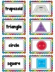 Rainbow Shapes- Posters and Math Centers