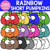 Rainbow Short Pumpkins