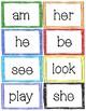 Rainbow Sight Word Cards
