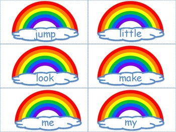 March Activities: St. Patrick's Day Sight Word Center